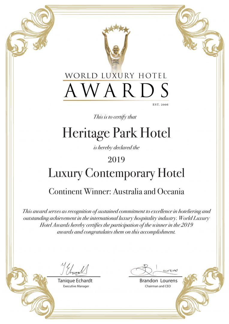 Luxury Contemporary Awards